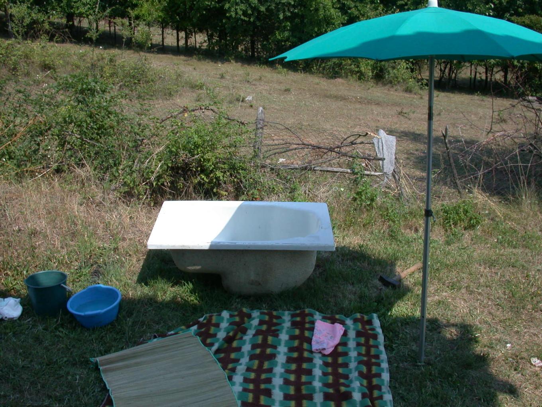Salle de bain d'été - Belgrade, Serbie