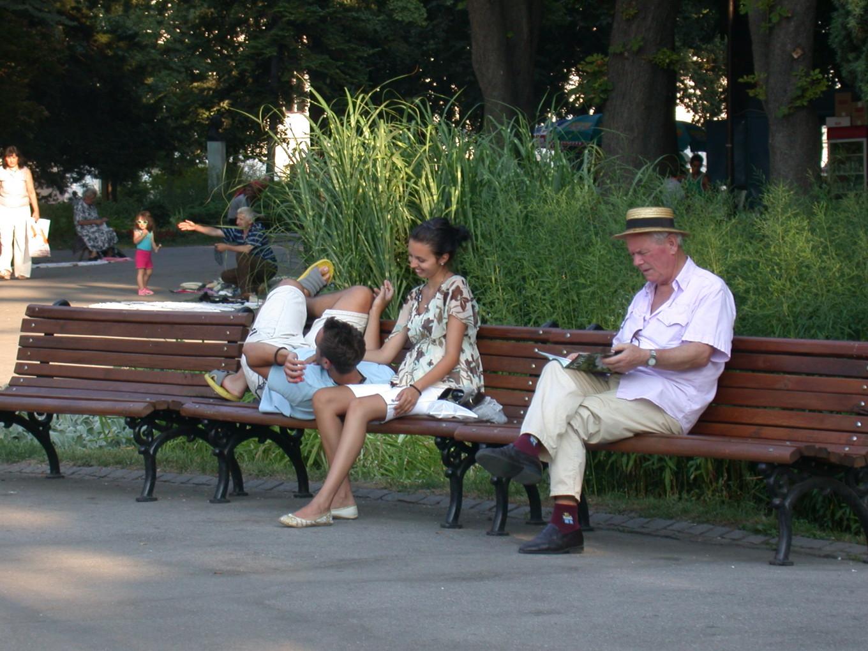 Un dimanche, dans le parc Kalemegdan - Belgrade, Serbie