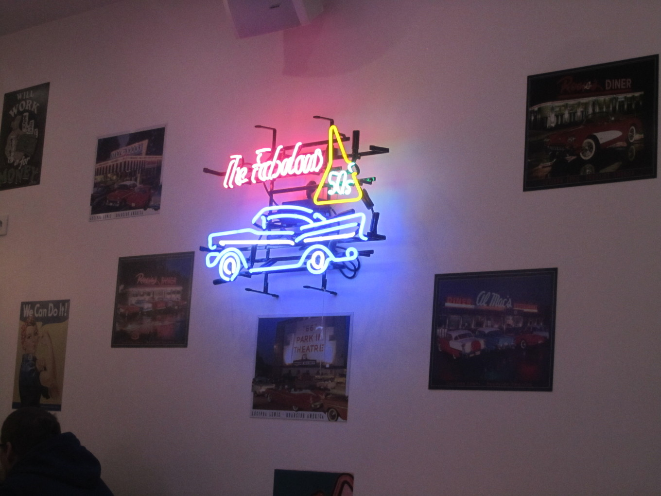 Ambiance Fifties - HD Diner Lille