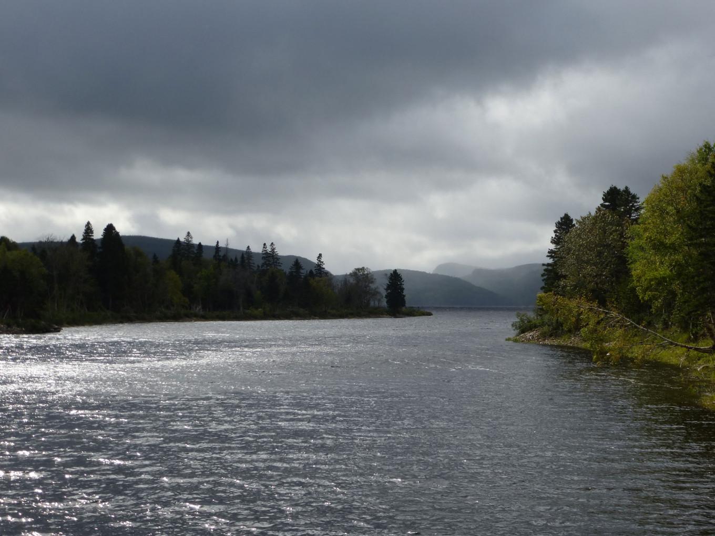 Rivière Saguenay sur la route du belvédère - Québec