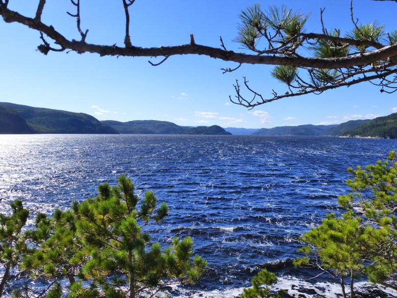 Le Fjord vu du belvédère - Québec