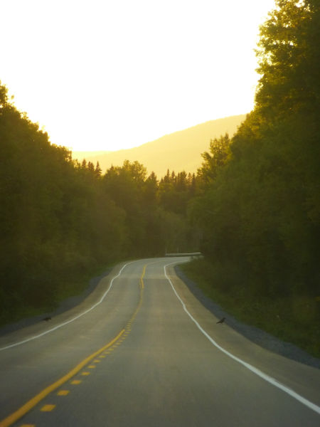 Sur les routes de Gaspésie - Québec