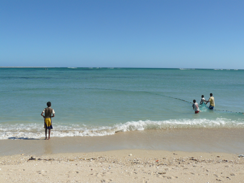 Enfants de la communauté Vezo, Toliary - Madagascar