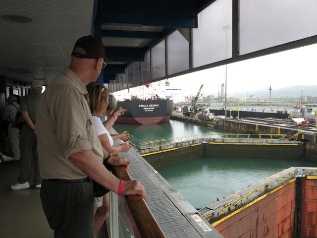 Les écluses Gatun - Panama City