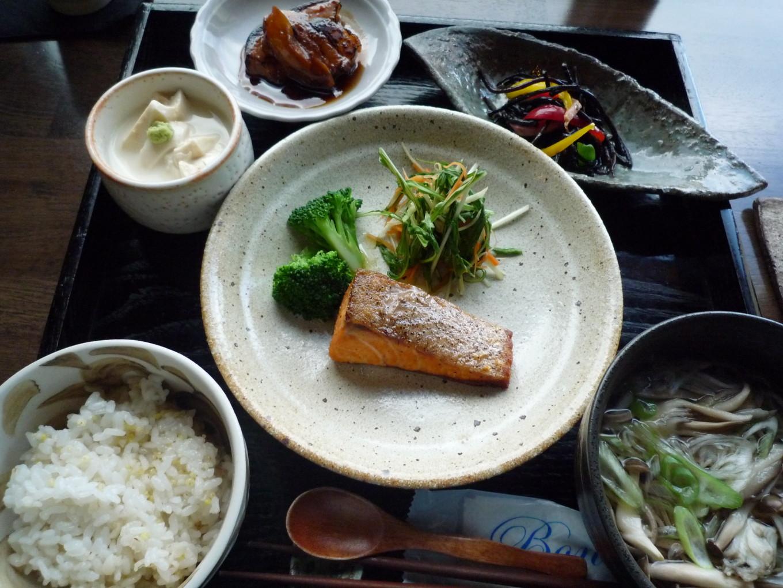 Miam miam à Kawaguchiko - Japon