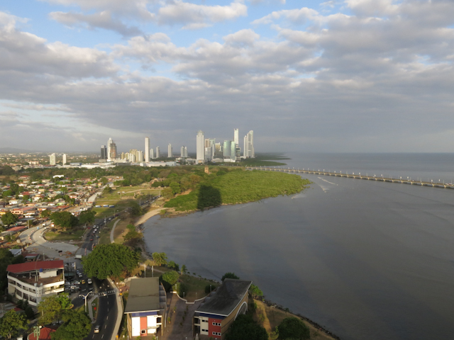 Vue sur Panama City