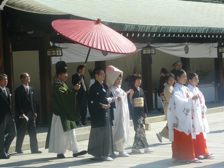 Wedding day - Japon
