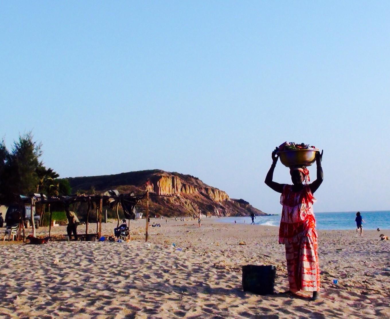 Vue sur Ker Cupam, Sénégal
