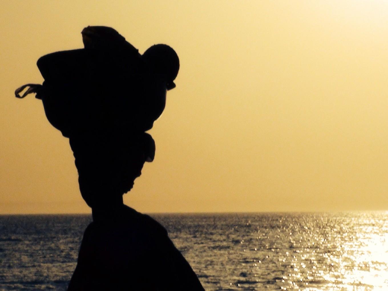 Coucher de soleil, Echo-côtier