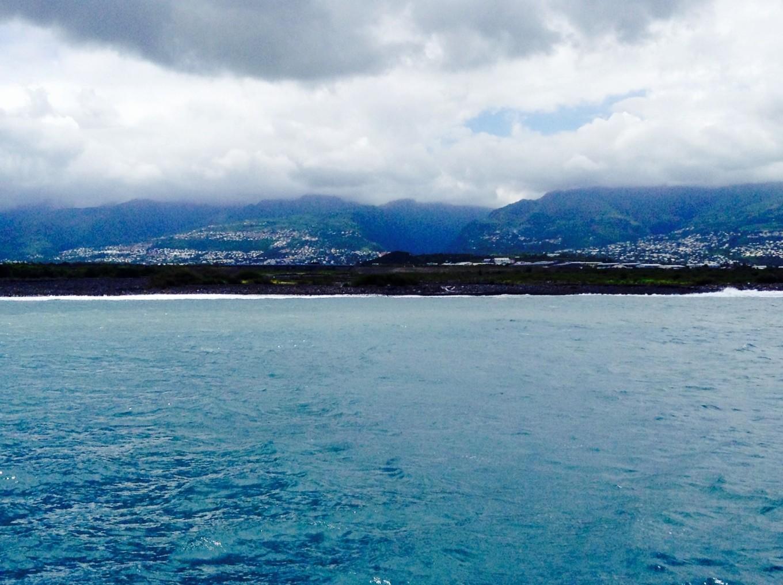 Vue sur la Réunion
