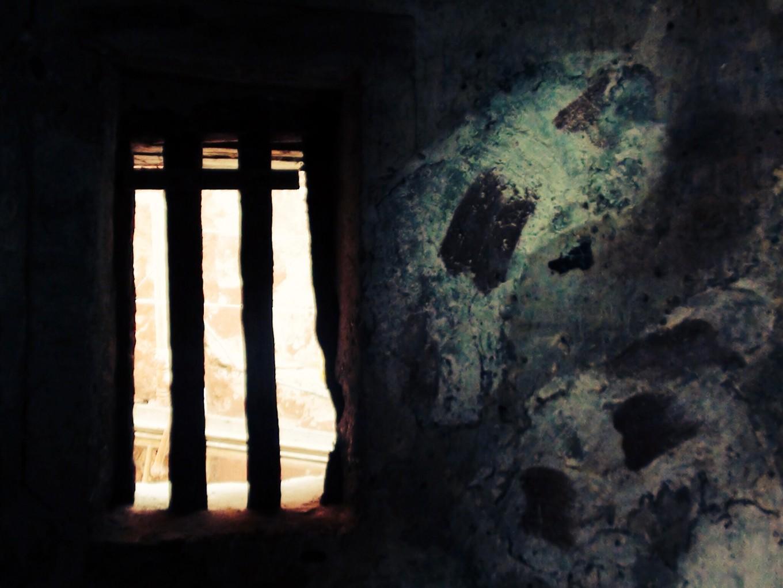 Cellule d'esclaves, île de Gorée