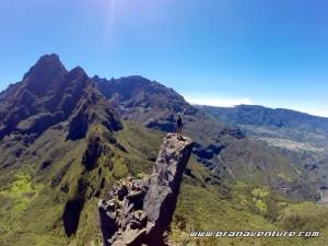 Dominer les Salazes, Réunion