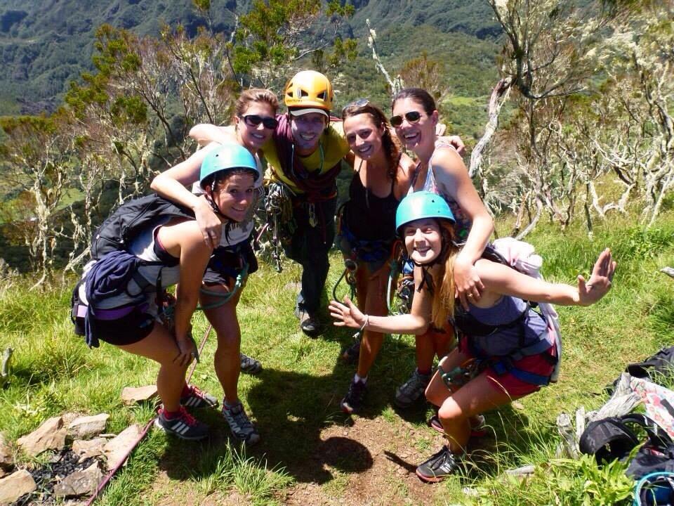 La fine équipe, Trois Salazes, Réunion