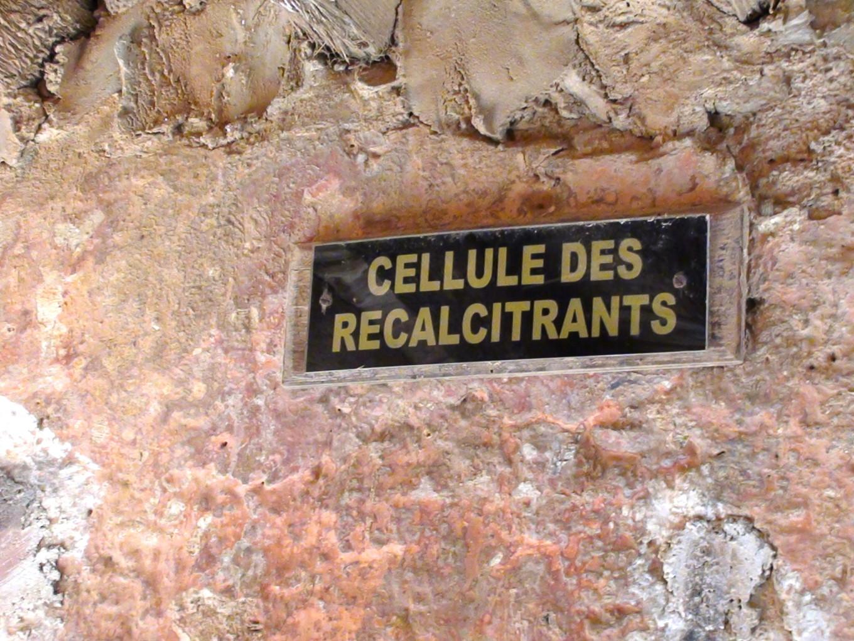 Cellule des récalcitrants, Gorée, Sénégal