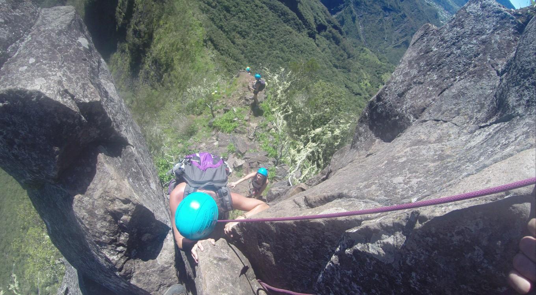 Escalader les Trois Salazes, Réunion