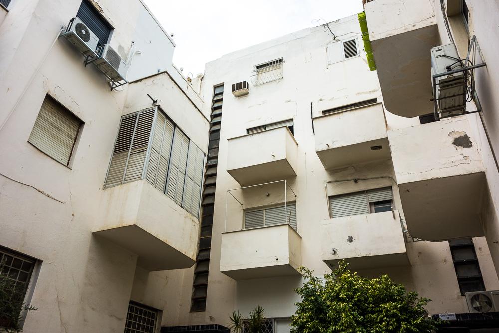 La ville blanche : 4000 bâtiments de style Bauhaus à Tel Aviv, Israël