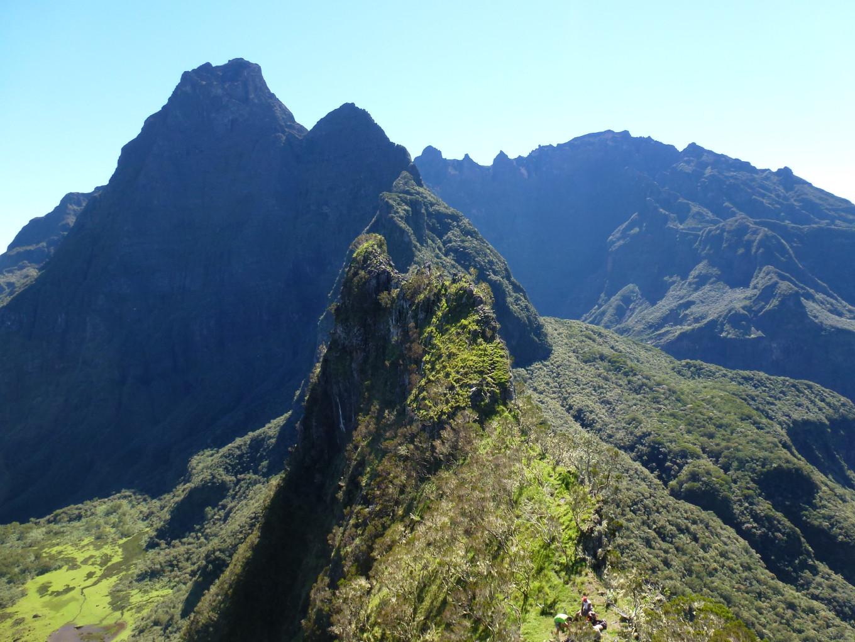 Les Trois Salazes, Réunion