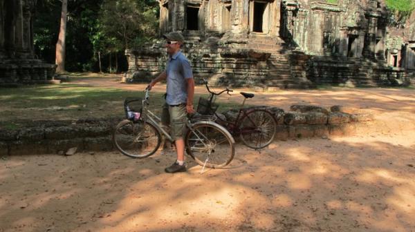 Matt, mon compagnon Cambodge rencontré sur VoyageForum