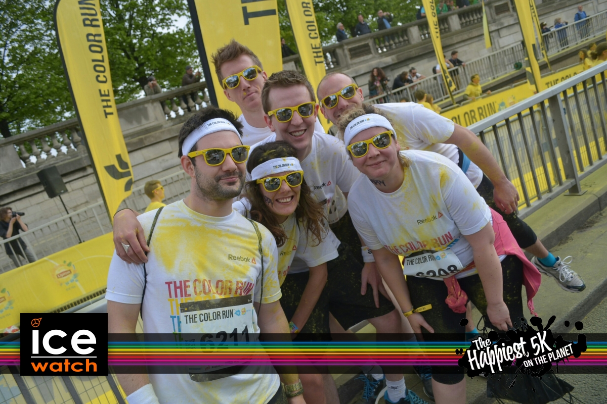 L'équipe, Color Run 2014, Paris