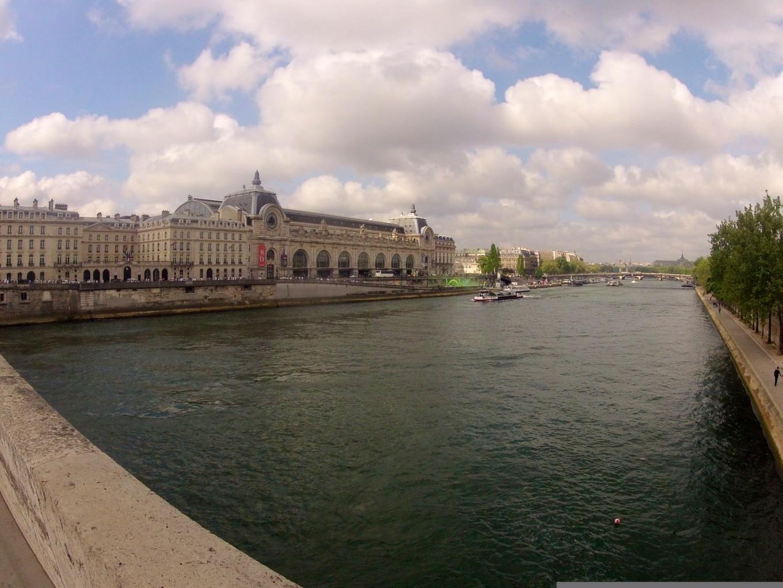Parcours Color Run 2014, Paris