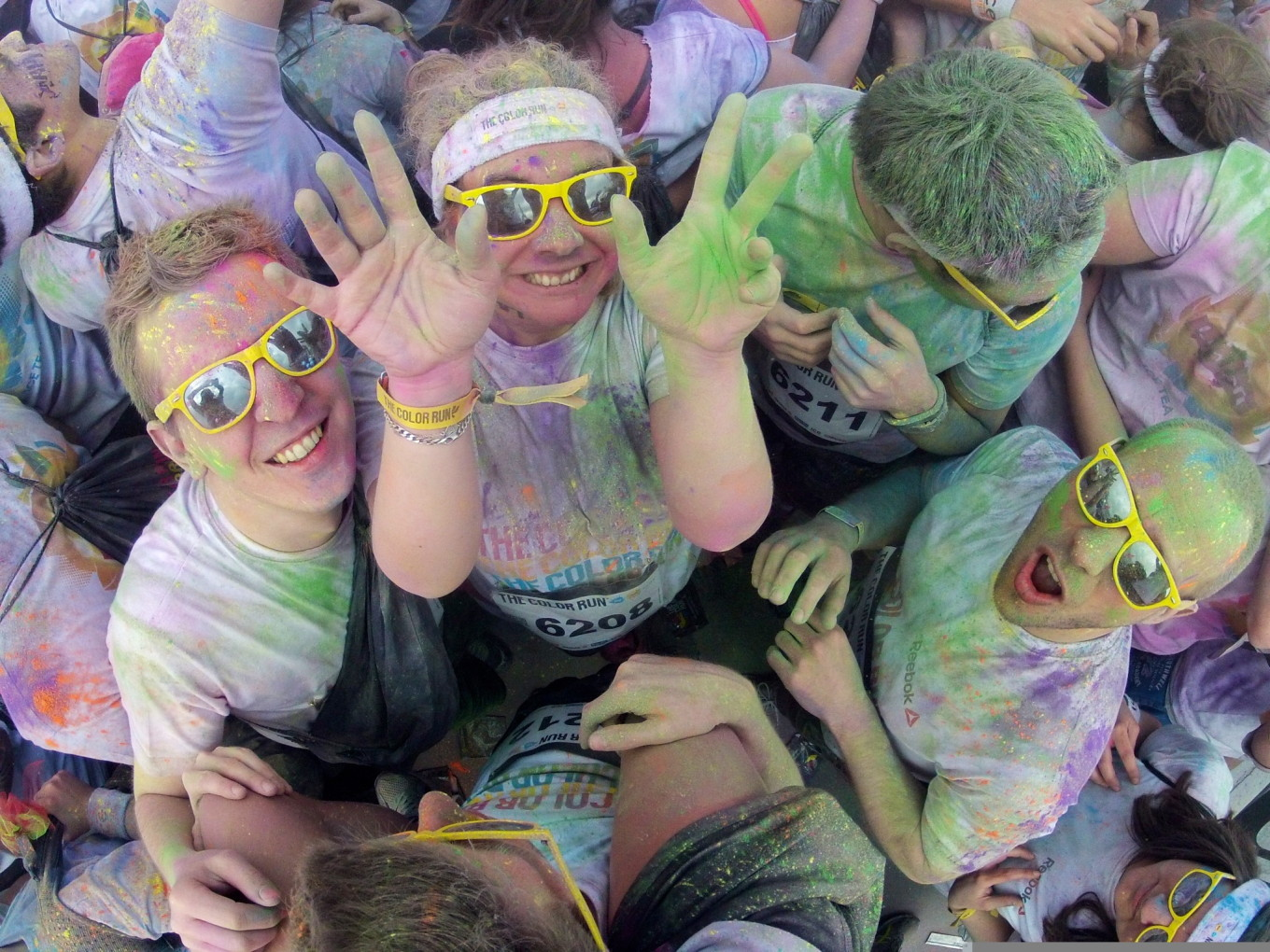 Color Run 2014, Paris