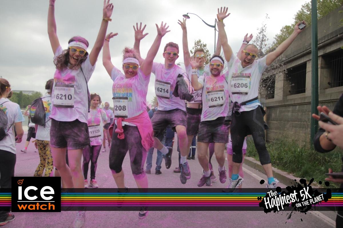 Color Run 2014, Paris