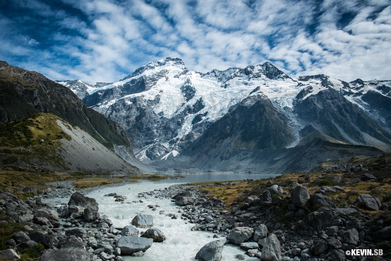 Le Mont Cook, Nouvelle-Zélande