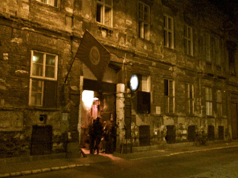Ruin Bar de Budapest, Hongrie