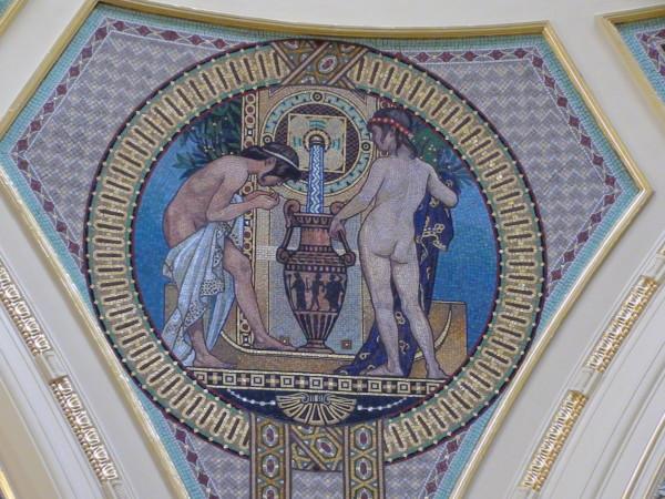 Prendre un bain à Budapest, les thermes Szecheniyi