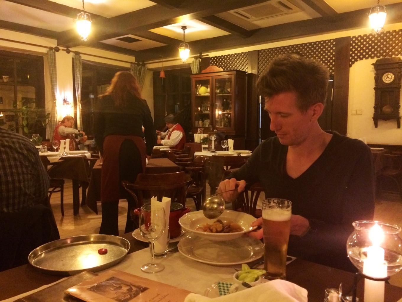 Un gastronomique à Budapest, Hongrie