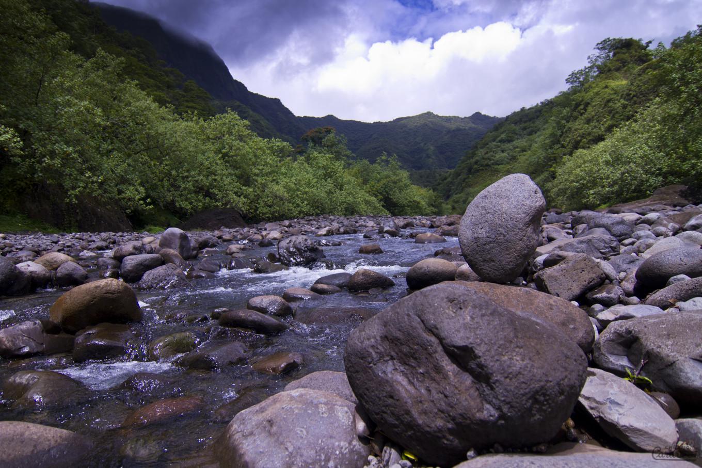 Dans les terres, Tahiti