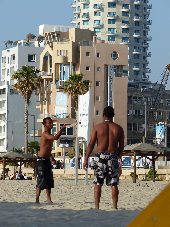 Le jeu de matkot, Israël