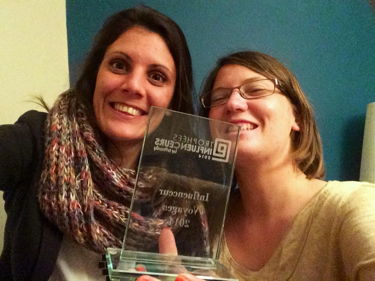 Trophée Influenceur Voyage 2014