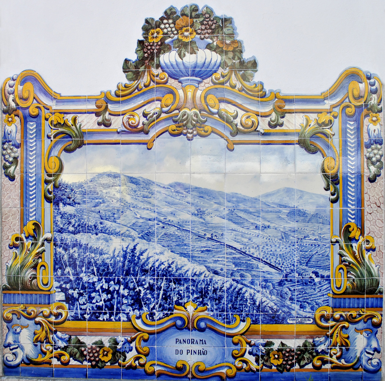 Azulejos de Pinhao - Portugal
