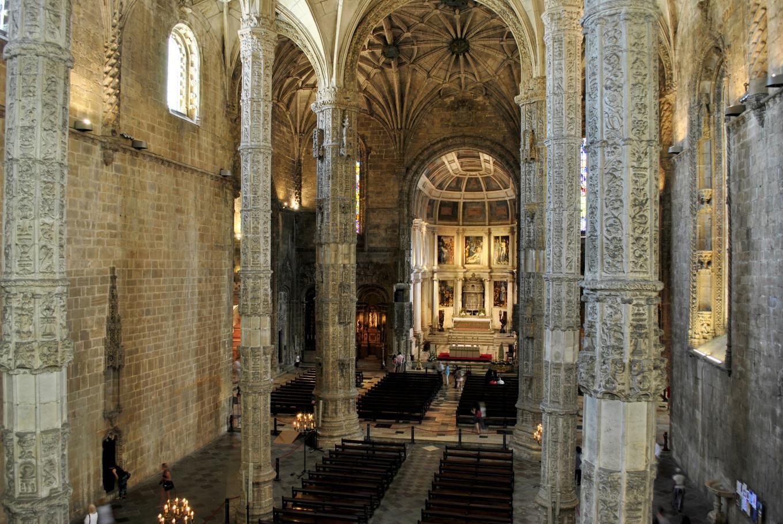 Eglise Santa Maria à Bélem (Lisbonne) - Portugal