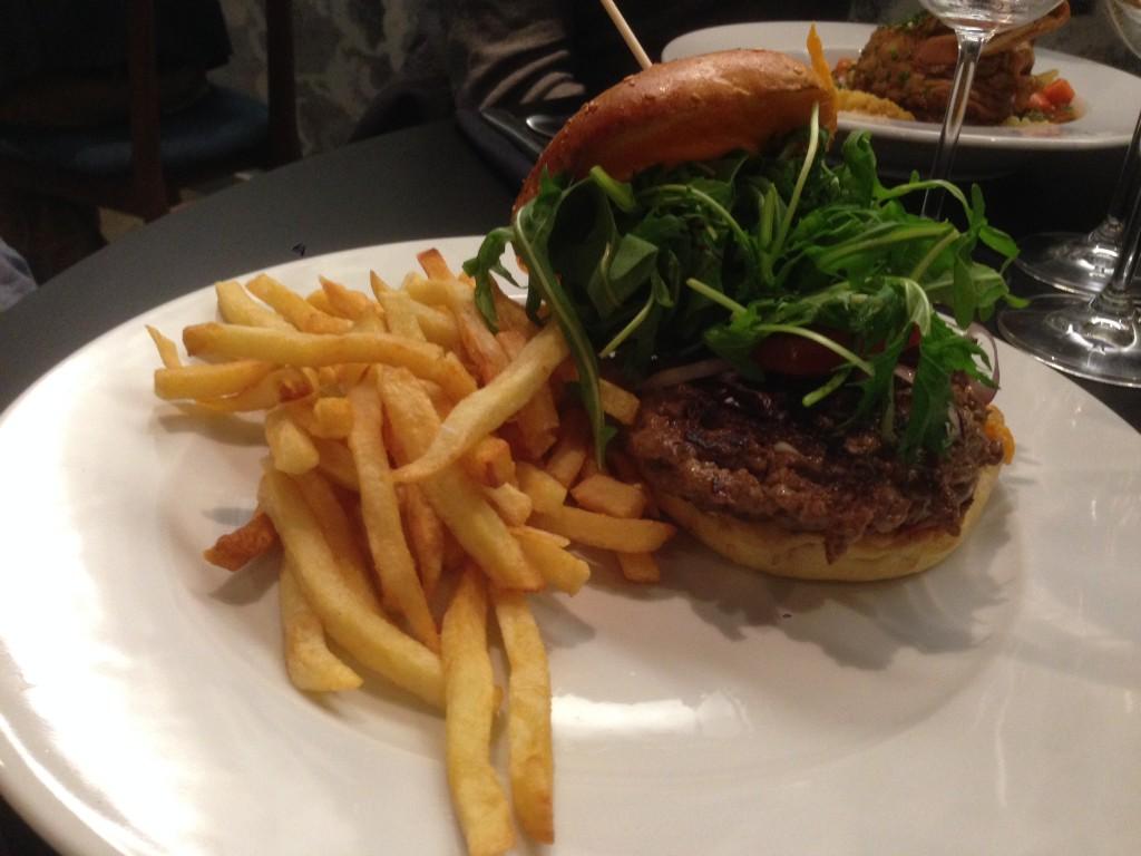 Lille Opéra Brasserie - Hamburger