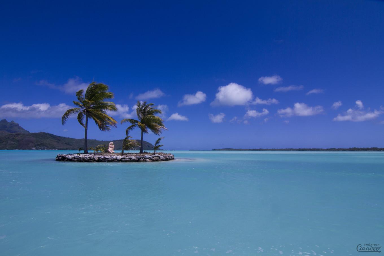 Île d'accueil, Bora Bora, Polynésie Française