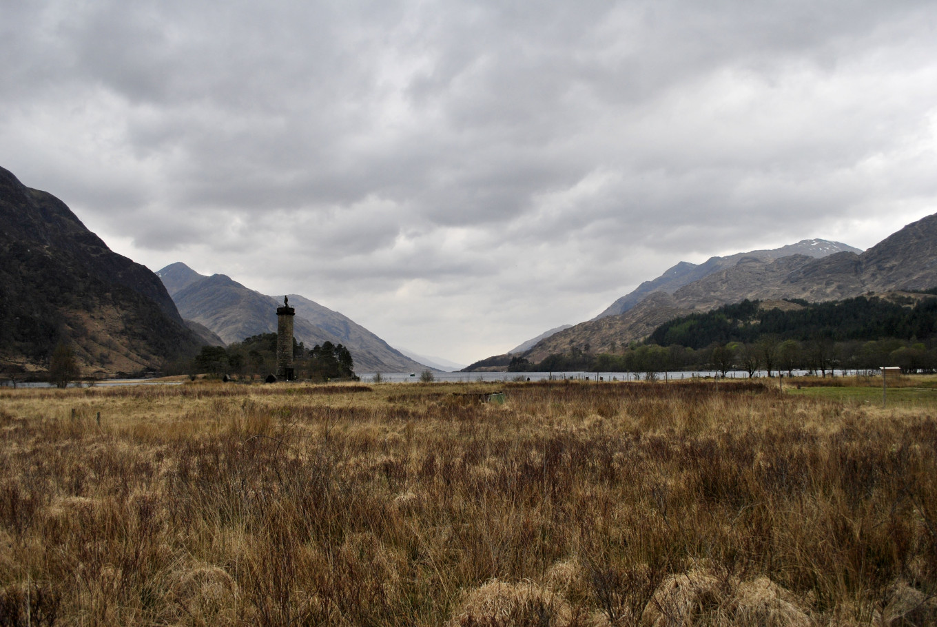 Glenfinnan Memorial - Highlands Ecosse