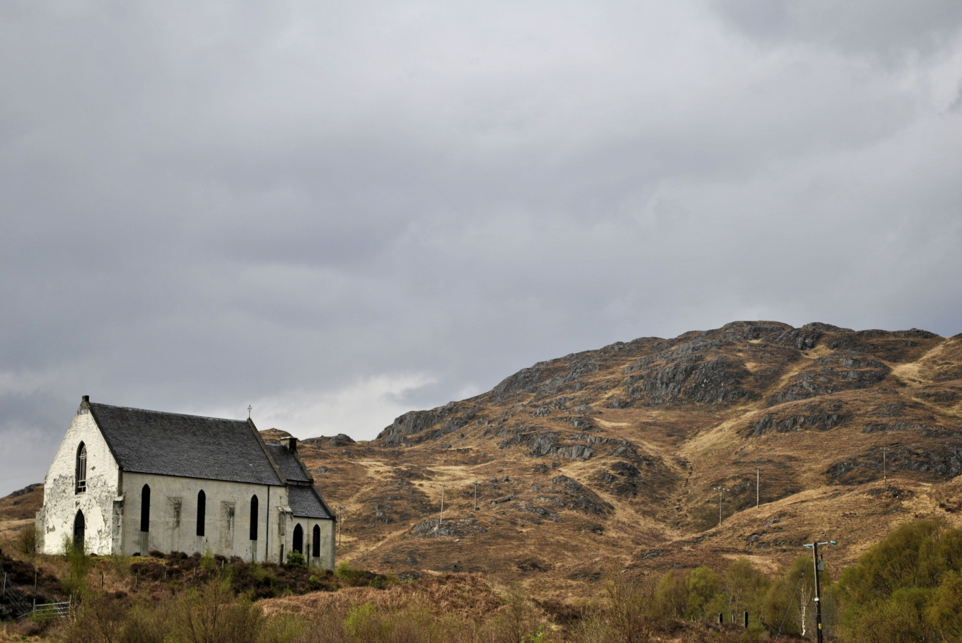 Lone chappel - Highlands Ecosse
