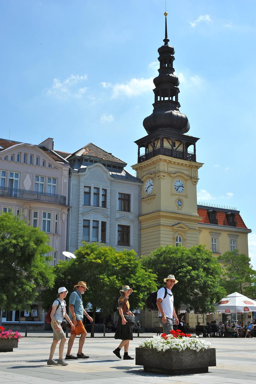 Place principale, Ostrava, République Tchèque