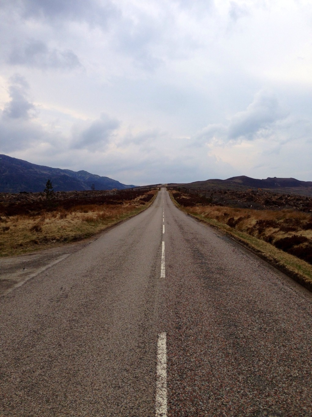 On the Road again - Highlands Ecosse