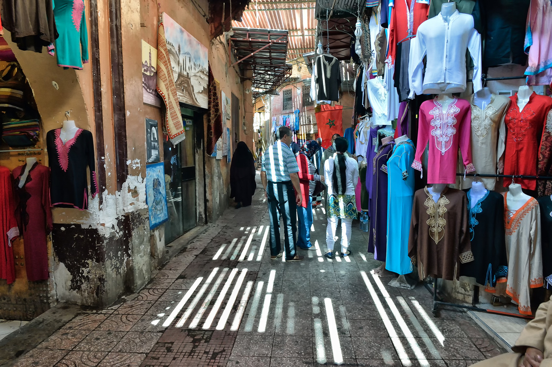 souk marrakech Maroc