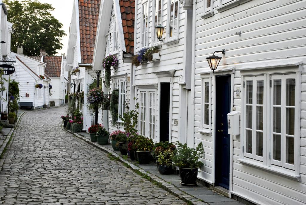 Stavanger Old City - Norvège