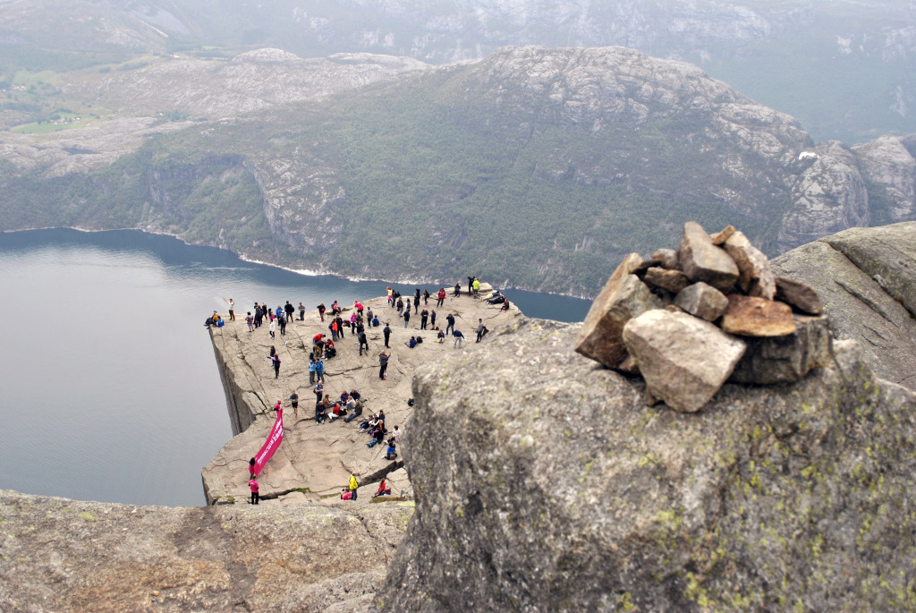 Ascension du Preikestolen - Norvège
