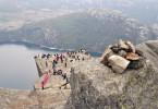 Ascension du Preikestolen - Norvège