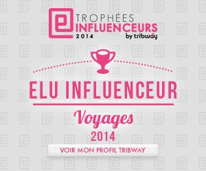 Élu influenceur voyages 2014