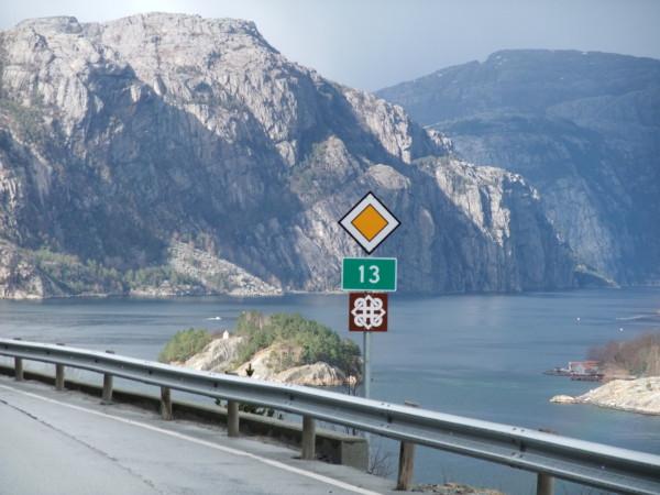 Route nationale touristique Ryfylke