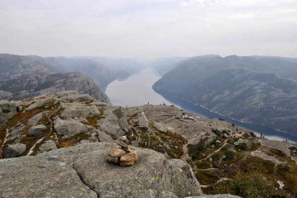 Lysefjord, le Preikestolen n'est plus loin