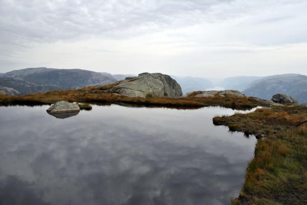 Nature en suspens - Preikestolen