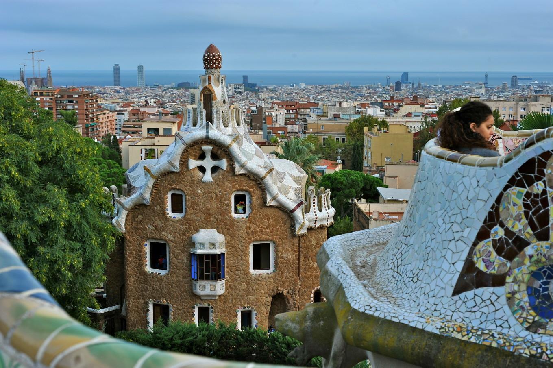 Dans la tête de Gaudi, Barcelone, Espagne